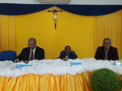 Presidente, Vice - Presidente da Câmara e Vice - Prefeito Climério