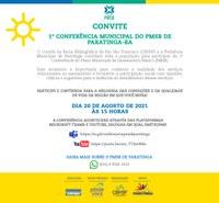 I Conferência Municipal do PMSB de Paratinga